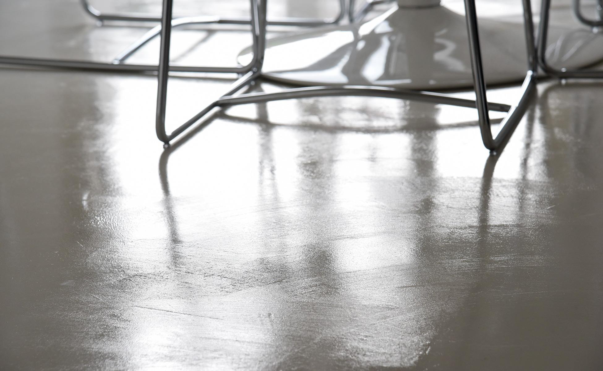 microcemento pavimento casa friuli