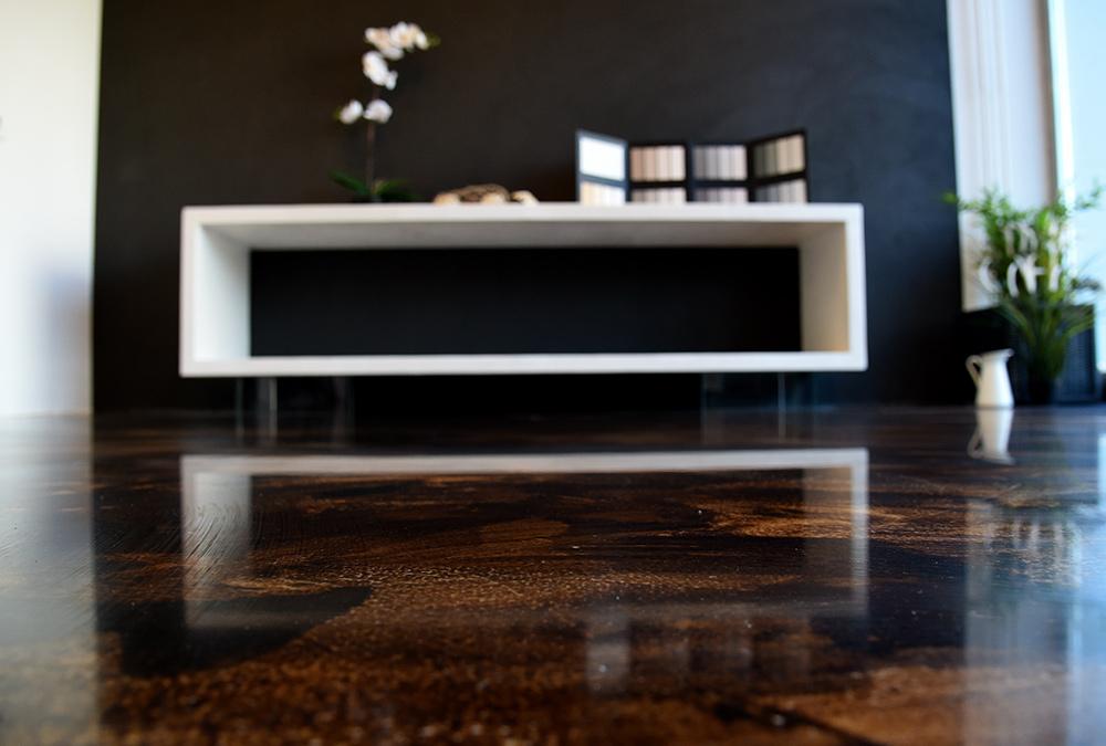 pavimento resina decorazione casa trieste friuli